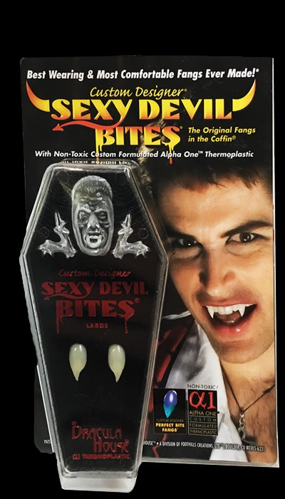 Sexy Devil Bites Fangs
