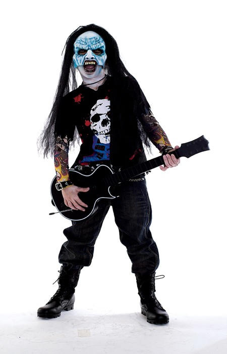 Childs Zombie Rocker Costume