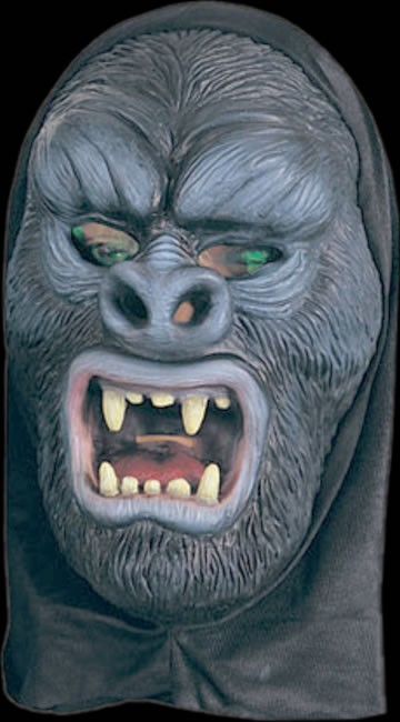 Gorilla with Holographic Eyes