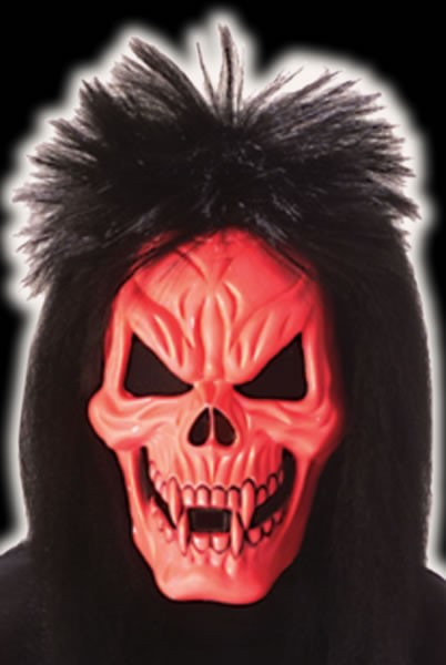 BL Red Skull Rocker