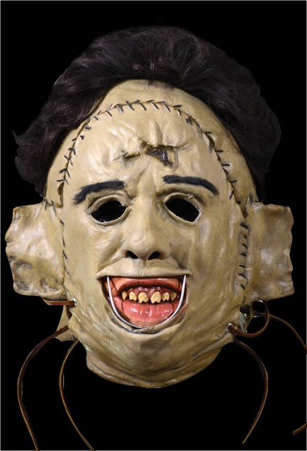 Texas Chainsaw Massacre Leatherface Killer Mask