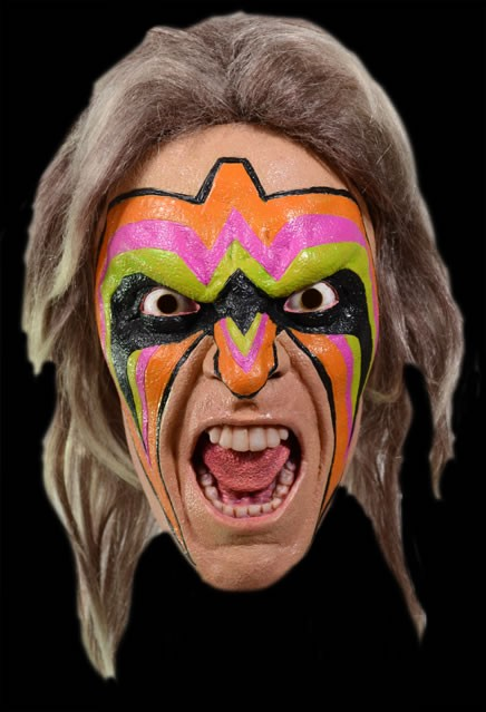 WWE The Ultimate Warrior Mask