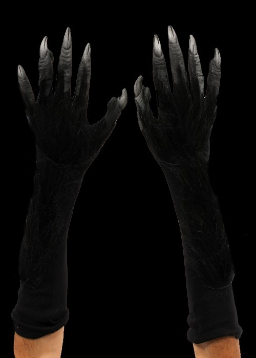 Black Monster Hands