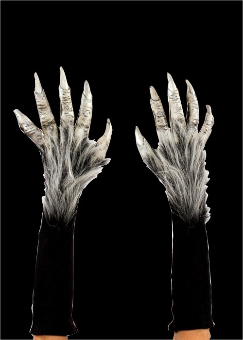 Silver Monster Hands
